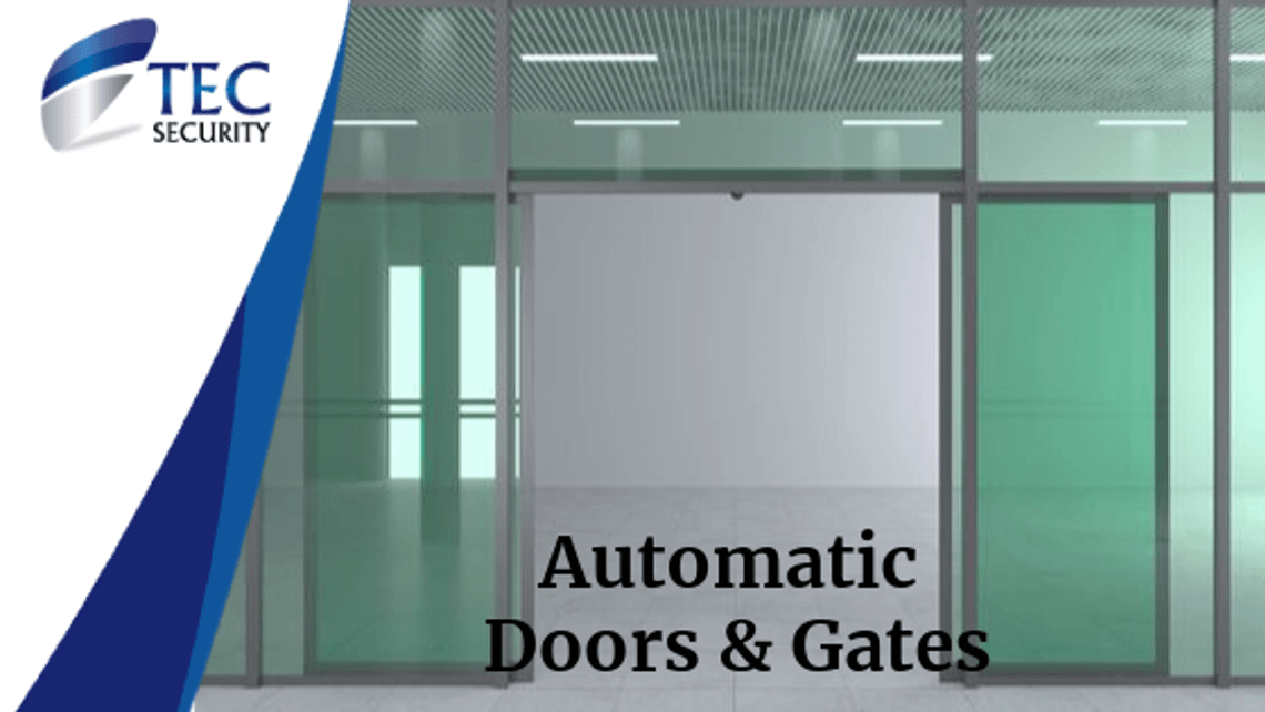Why Automatic Doors and Gates Make Sense for Business