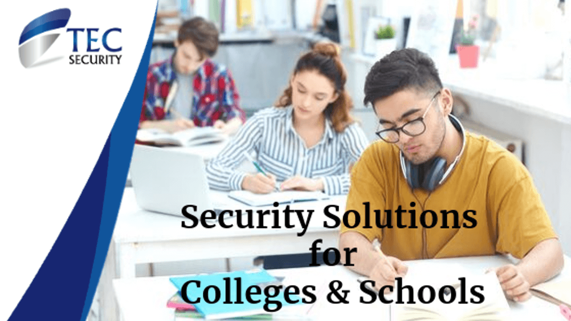 CCTV Security Solutions for Colleges and Schools